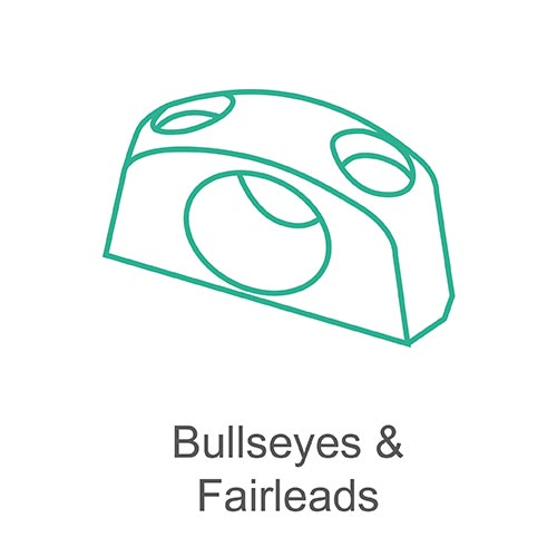 Bullseyes and fairleads