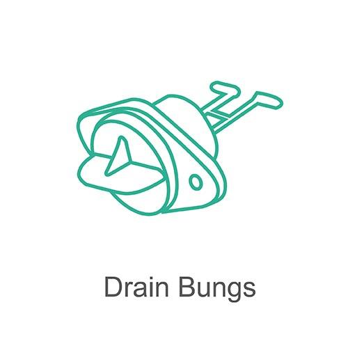 Drain bungs