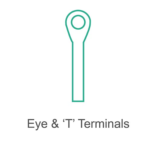 Eye and T terminals