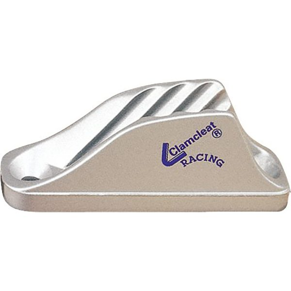 C219T - Clamcleat 12mm Vertical Ali Silver (Pk Size: 25)