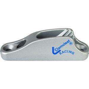 C702T - Clamcleat 6mm Junior Ali Silver (Pk Size: 50)