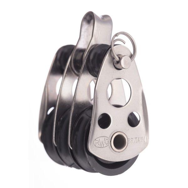 R1100 - 25mm Block Treble & Shakle (Pk Size: 1)