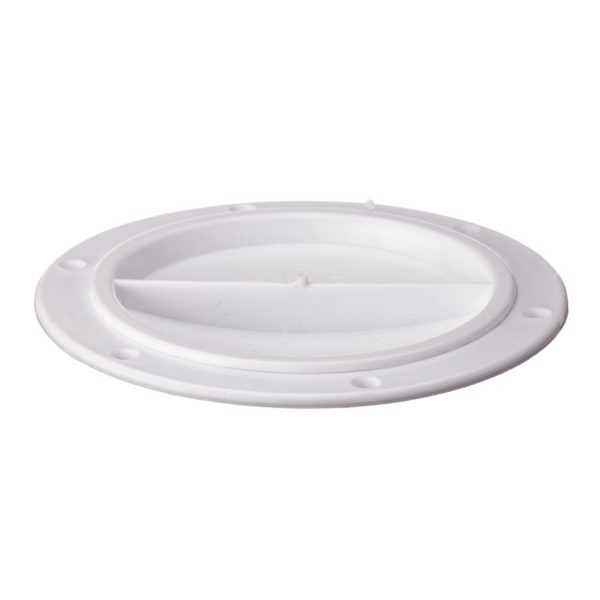 R2020 - Cover Halfturn White 10Cms (Pk Size: 1)