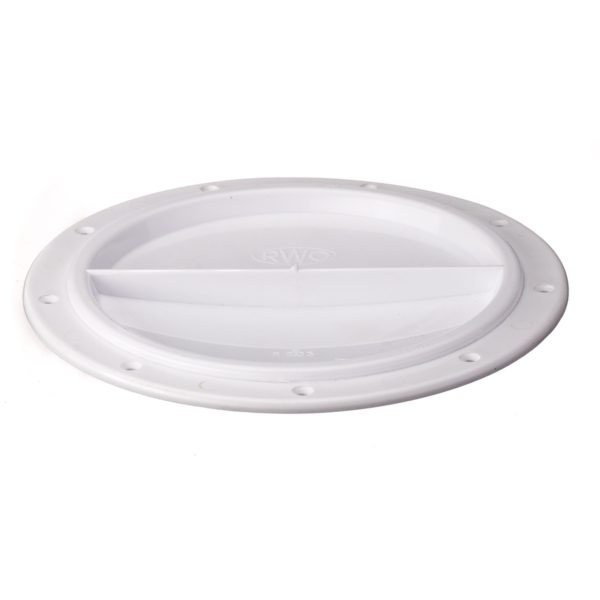 R2030 - Cover Halfturn White 15Cms (Pk Size: 1)