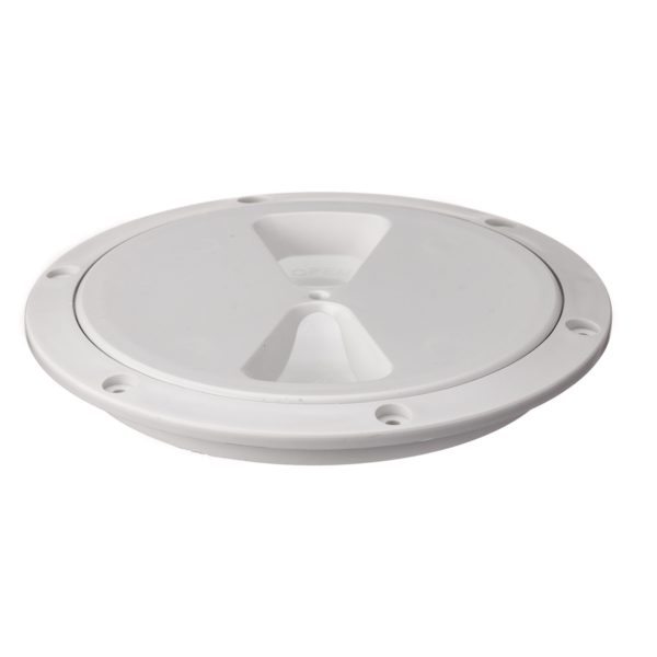 R4050L - Screw Insp Cover 125mm  (White) (Pk Size: 1)
