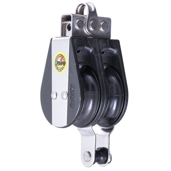 R5412 - 45 Macro Double fixed shackle & Becket (Pk Size: 1)