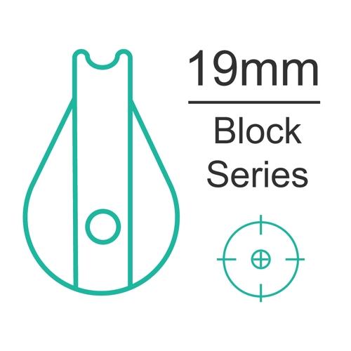 19mm plain bearing block