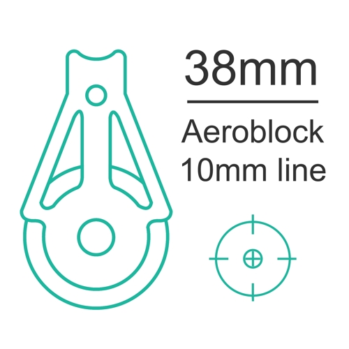 38mm Aeroblock up to 10mm line