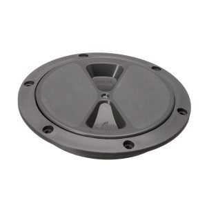 R4044L - Screw Insp Cover 100mm  (Grey) (Pk Size: 1)